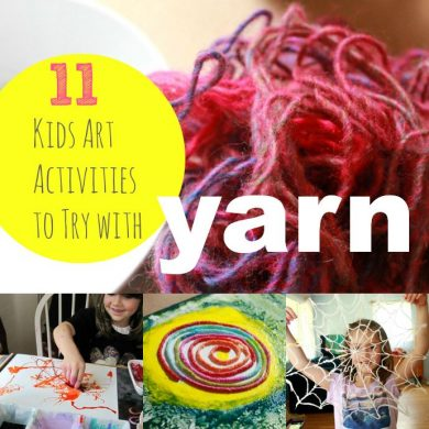 11 Kids Art Activities to Try with Yarn — fun ideas!