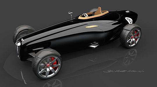 Bentley Barnato Roadster Concept Return of the Bentley Boys