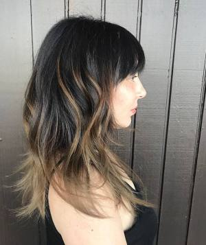 Modern Hairstyle with Long Layers