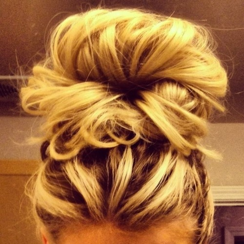 Messy Buns For Long Hair