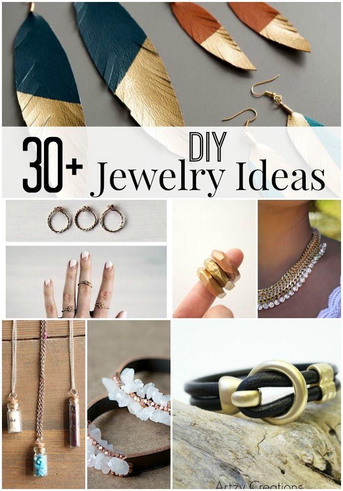 Awesome 30+ DIY Jewelry Ideas