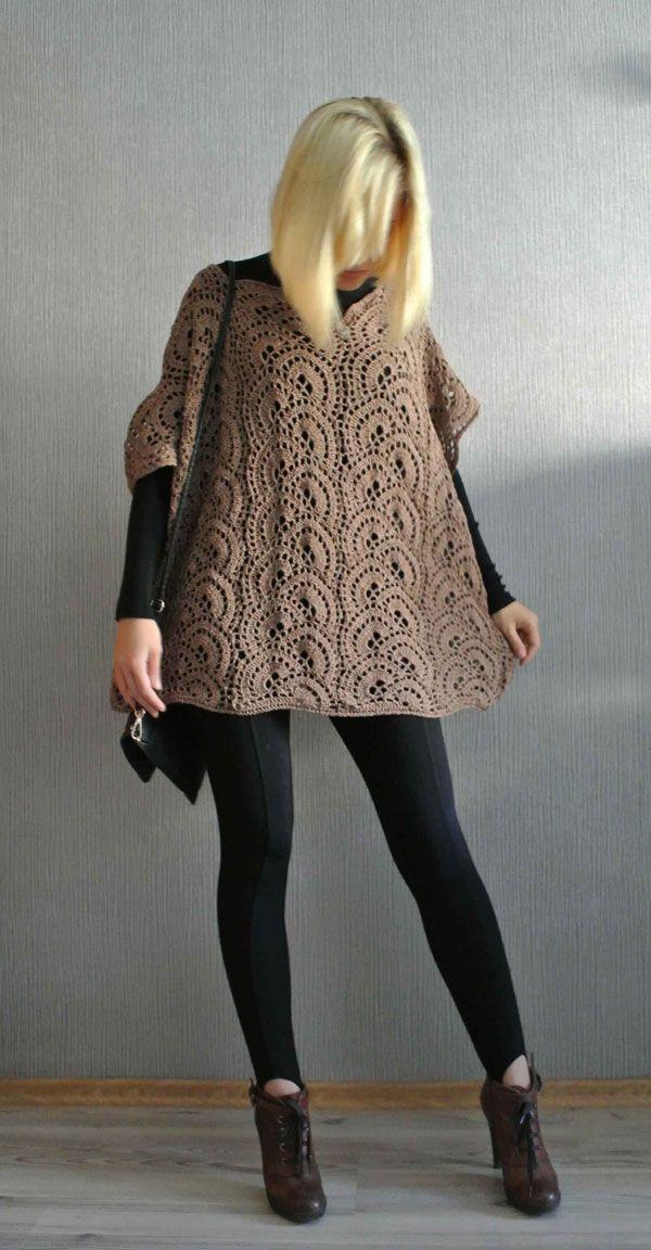 Crochet Poncho Tutorial