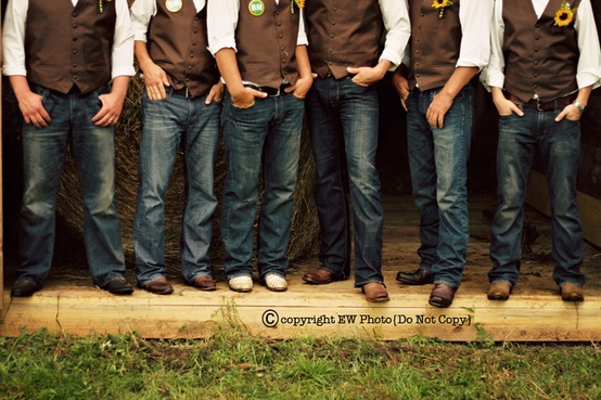 casual groomsmen – if you don't want suits?!