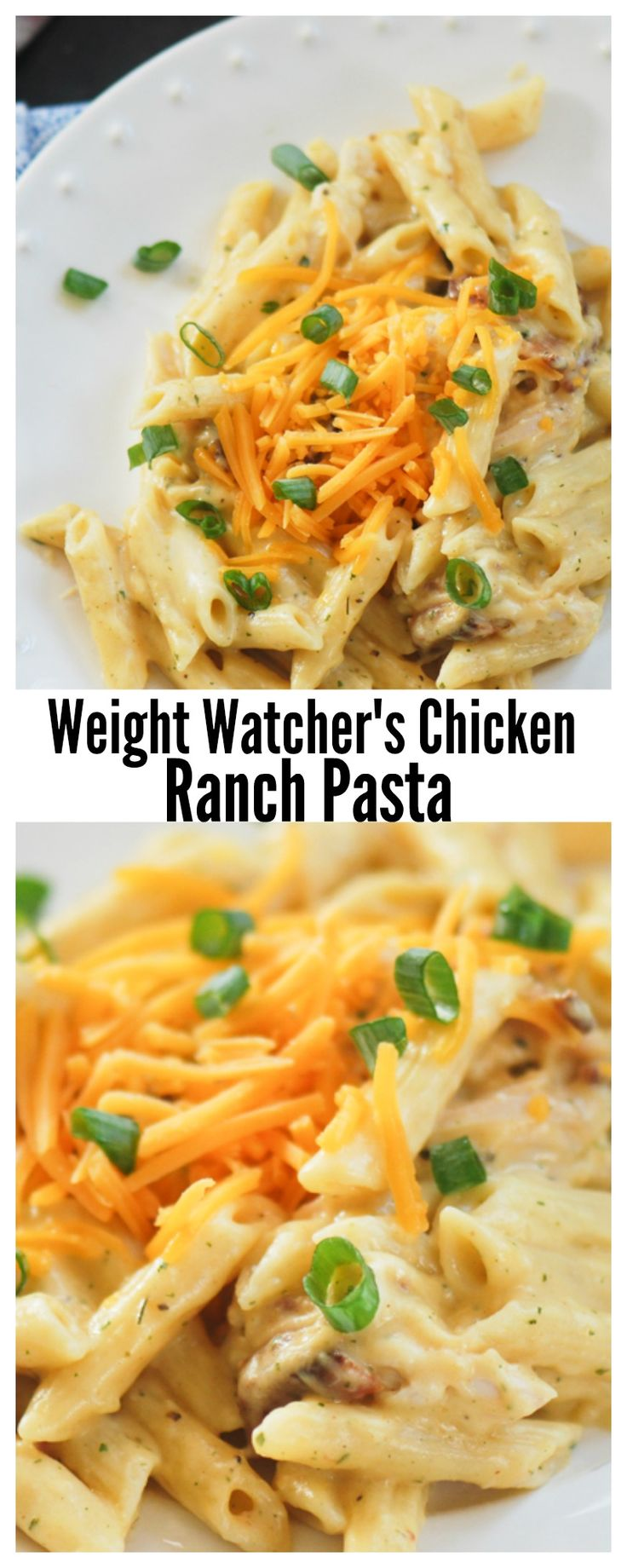 Weight Watchers Chicken Ranch Pasta