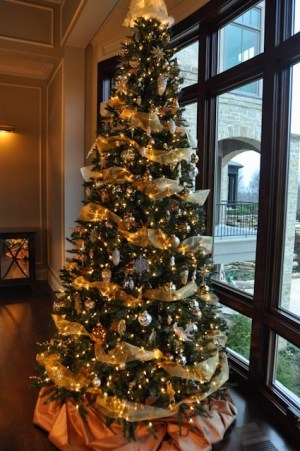 Silver and Gold Tree thinkingoutsidetheboxwood.com