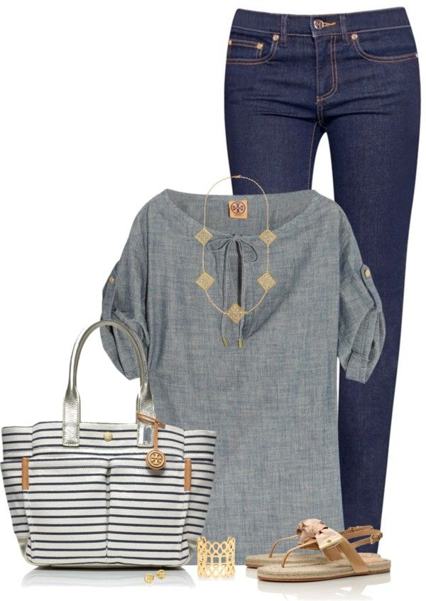 Cute and Beautiful Everyday Summer Outfit Polyvore Combinations