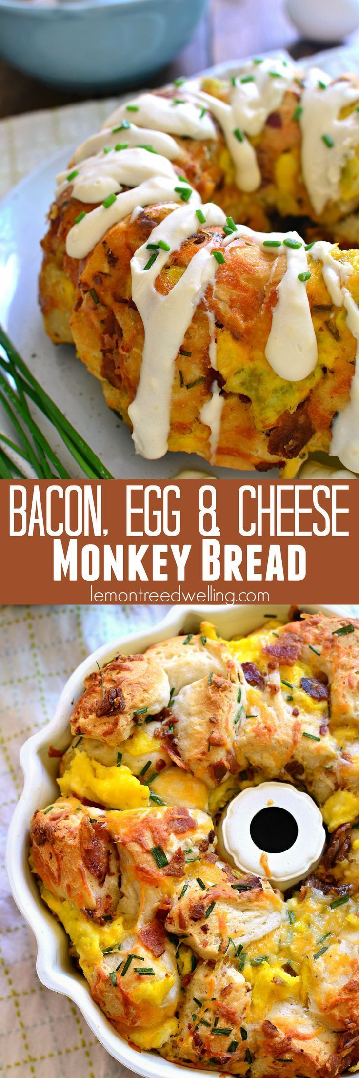 This Bacon, Egg & Cheese Monkey Bread