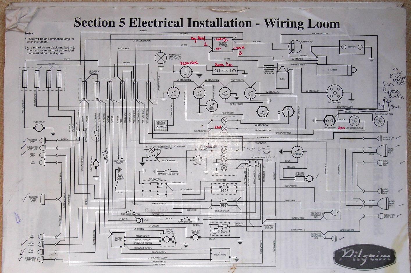 General 1040 Wiring Diagram