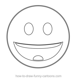 vector custom draw cartoons shapes drawing shape basic circle using circles smiley lines straight funny step around another