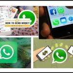 send money via WhatsApp | Current Methods