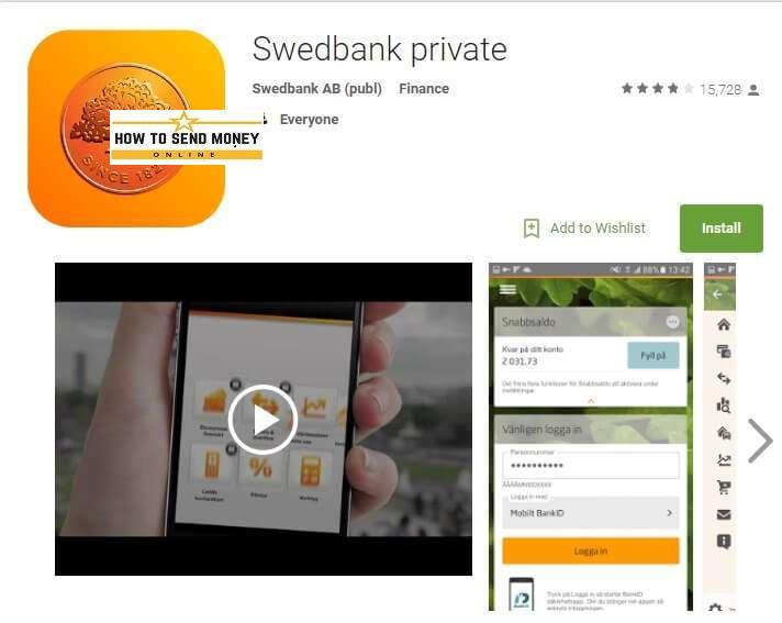 swedbank login privat