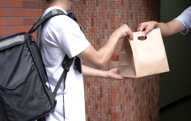 Rise of delivery services are changing our lives in city area, Japan