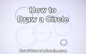 circle draw ways different four easy simple basic