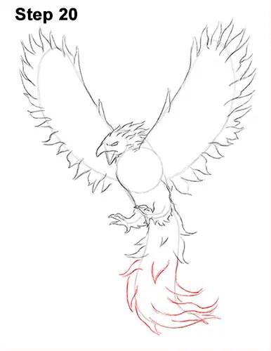 How to Draw a Phoenix