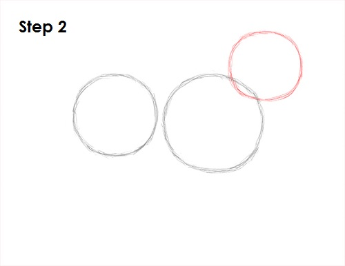 Rounded Triangle Intersecting Circles