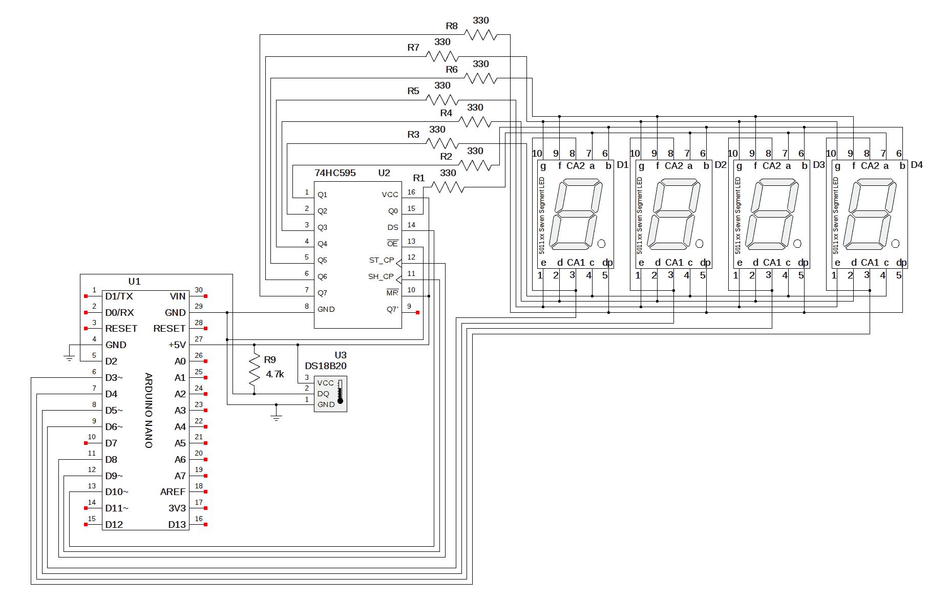 Range Finder Using Ultrasonic Sensor & Arduino with OLED