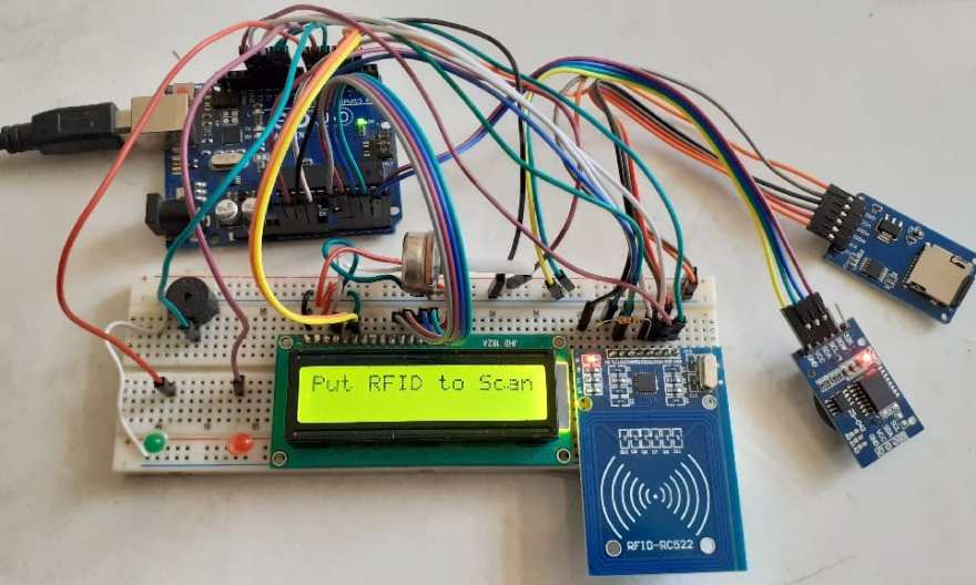 RFID RC522 Based Attendance System Using Arduino with Data ... on parallax rfid, mobile rfid, connected car rfid, nfc vs rfid, diy rfid,