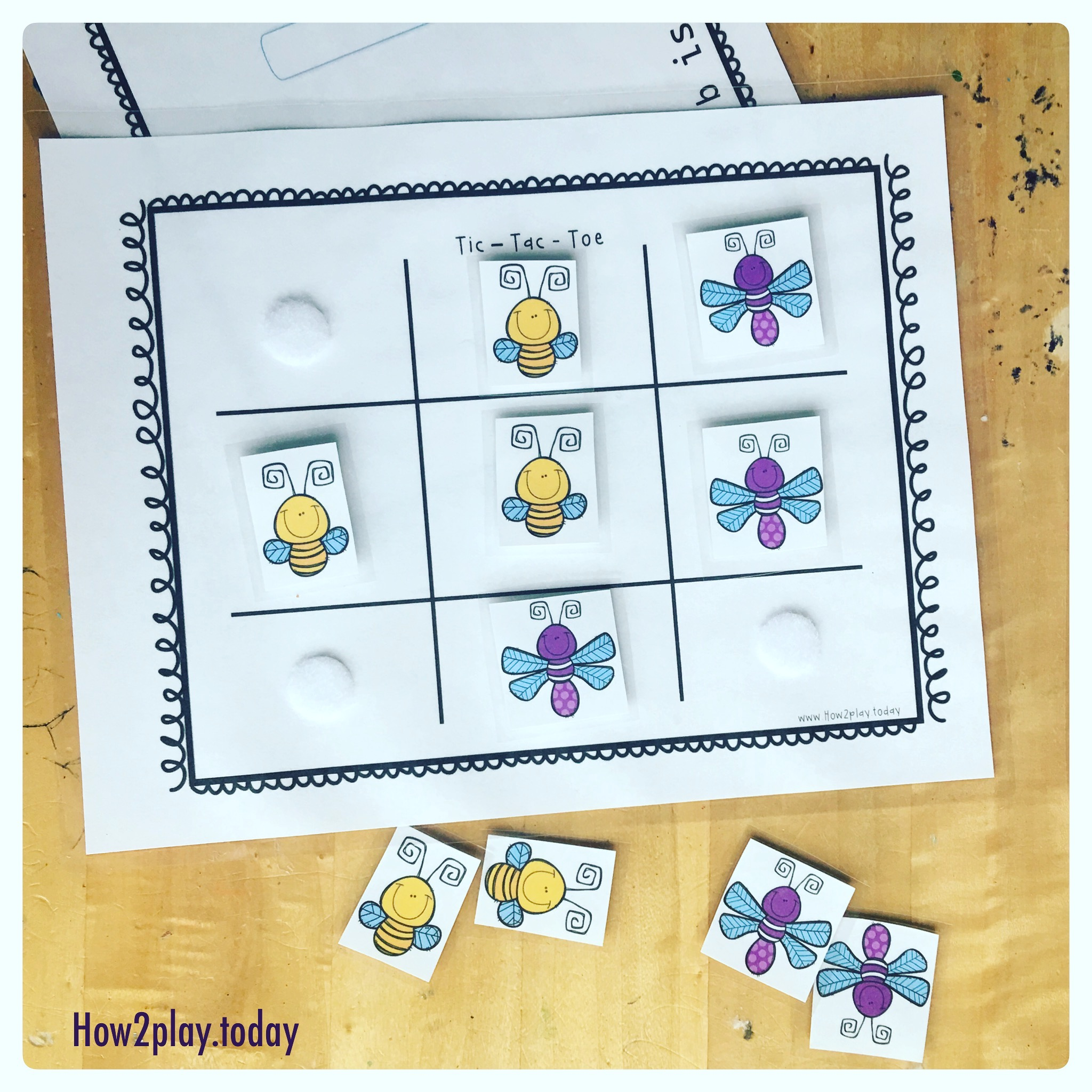 Insect Tic Tac Toe How2playday