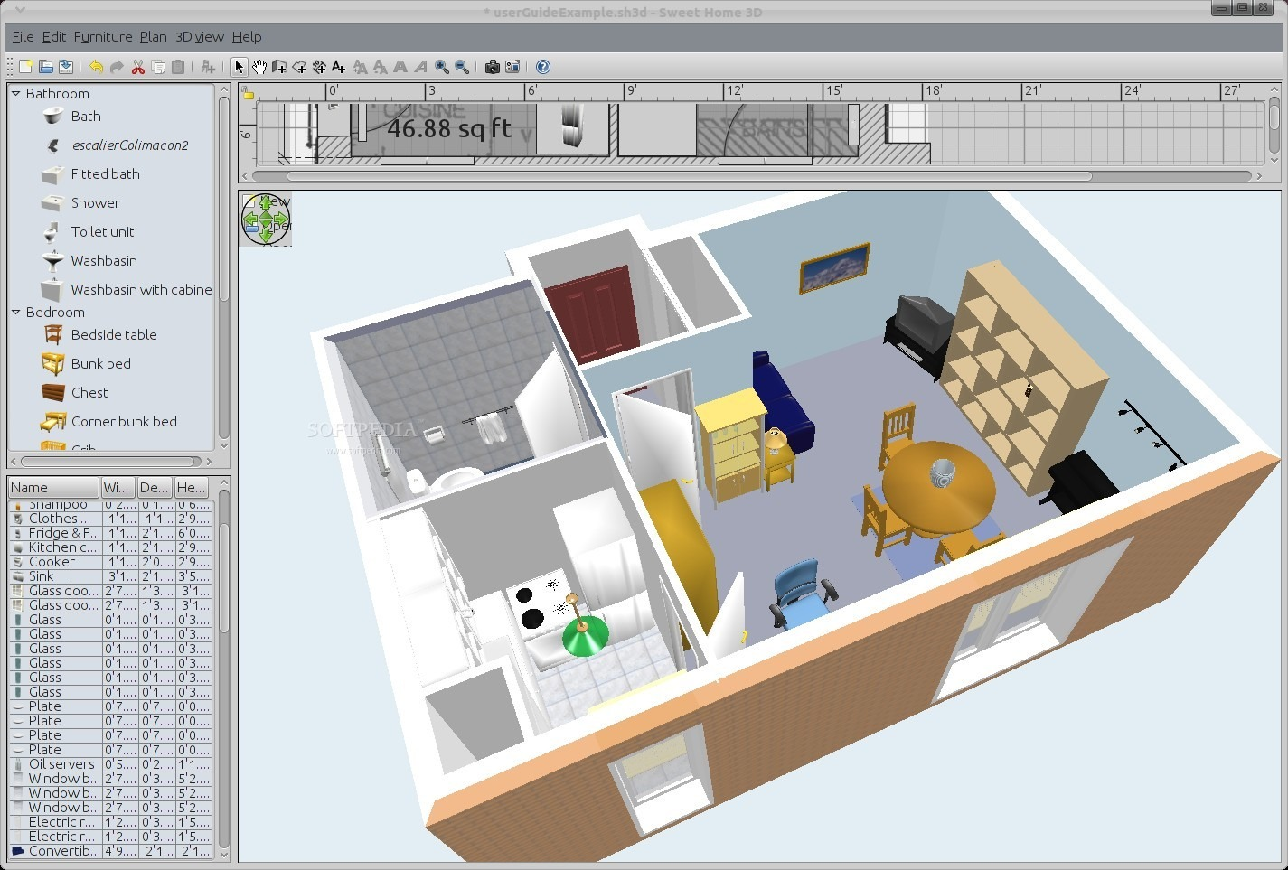 11 free and open source software for architecture or cad - Home interior design software ...