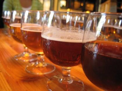 Svaneke Bryghus microbrewery and restaurant brews award-winning unfiltered beers.