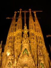 Construction of the Sagrada Familia began in 1882 and is expected to finish in 2026, the centenary of Gaudi's death.