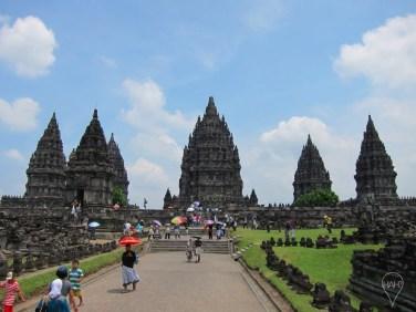 Prambanan, also known as Candi Rara Jonggrang, is dedicated to the Hindu deities Shiva, Vishnu and Brahma.