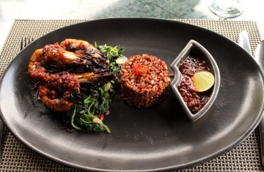Care for some fiery sambal prawn?