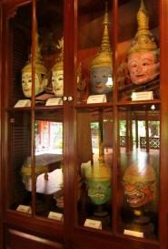 Khon mask collection