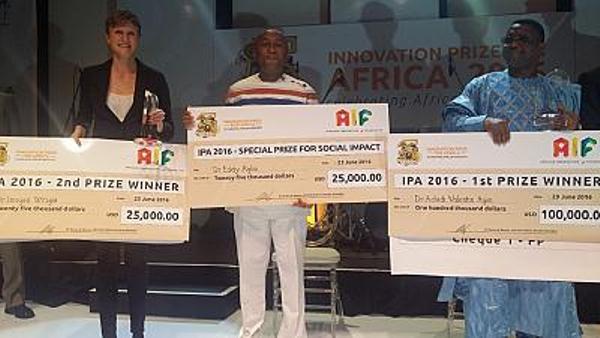 Beninese wins $100,000 for innovation of anti-malaria drug