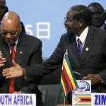 President Zuma and Mugabe