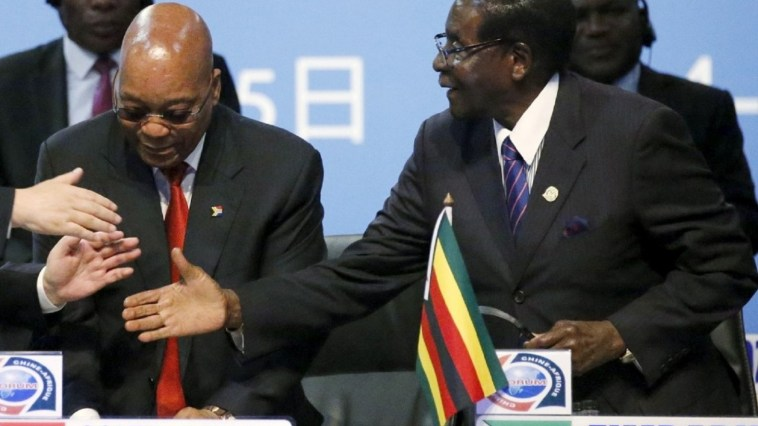 President Zuma and Mugabe