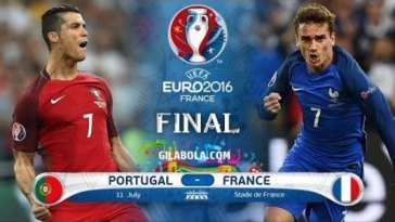 Euro 2016 France vs Portugal Credit:Youtube