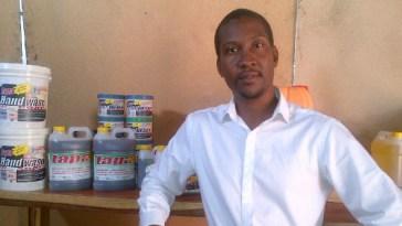 turning Vegetable Oil into Fuel,Mutoba Ngoma, Zambian man
