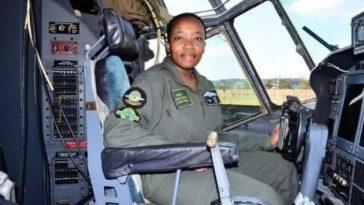 Nandi Zama The First Black Woman Commander