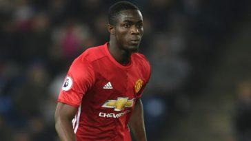 Eric Bailly in manchester united jersey
