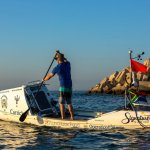 South African Rower , 1st Man To Cross Atlantic
