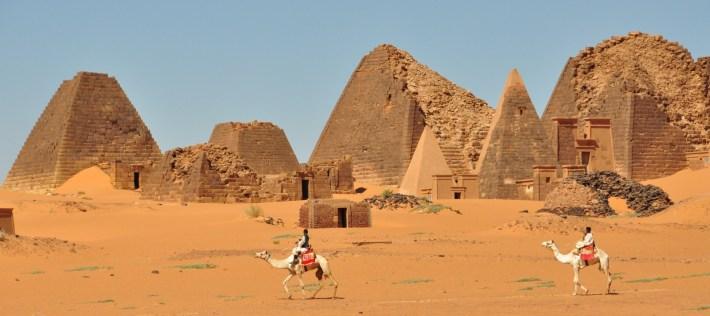 Sudan has more pyramids than Egypt