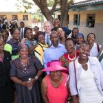 Former U.S. President George W. Bush Visits Botswana, Namibia