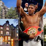 Nigerian boxing champion, Anthony Joshua