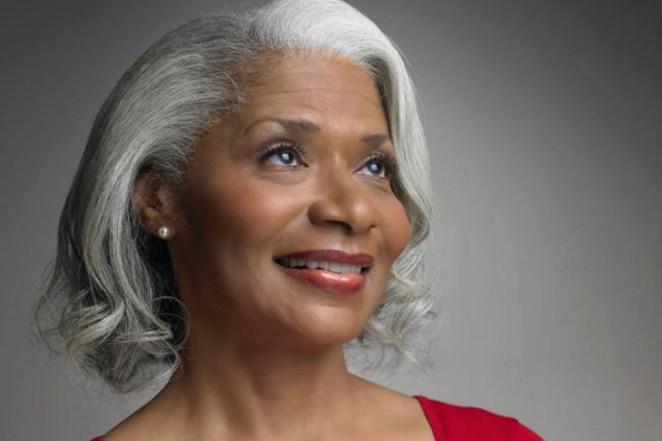 Ageing black woman