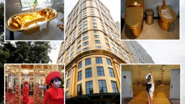 World's 'First' Gold-Plated Hotel