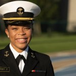 Sdyney Barber, US Naval Academy names first Black female brigade commander