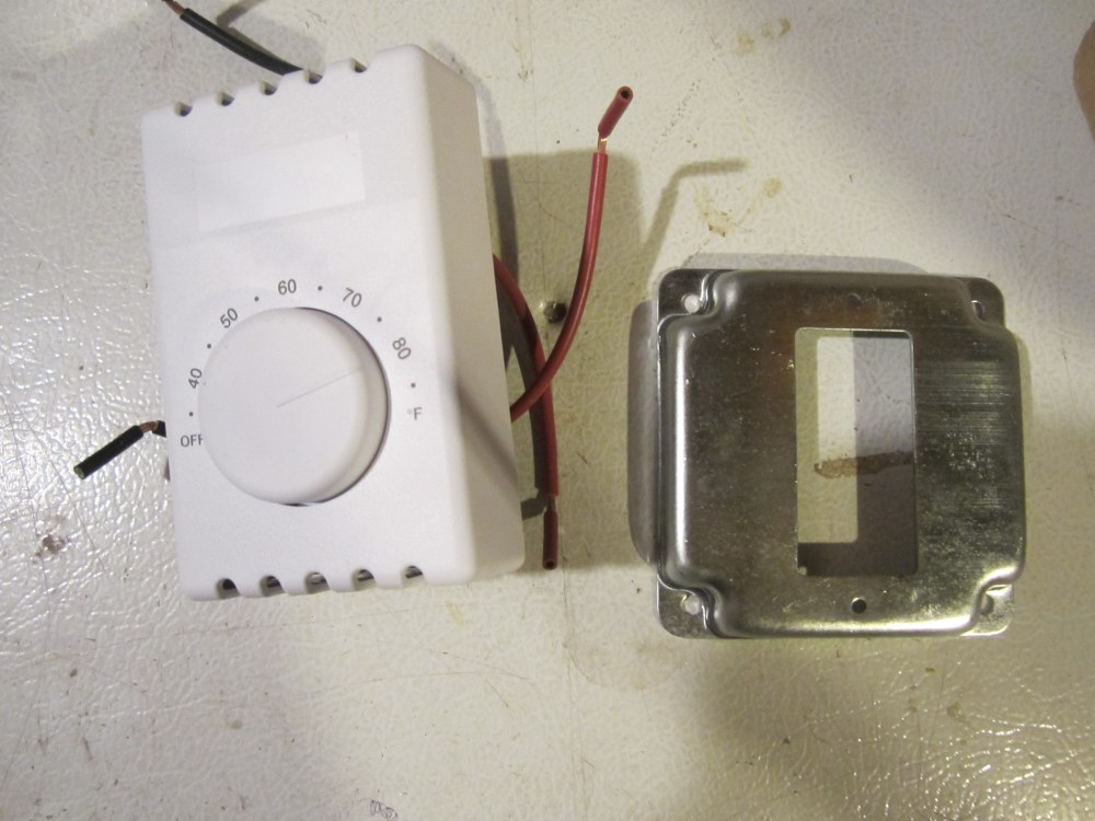 medium resolution of how to build a thermostat controlled outlet howandsometimeswhy2 pole thermostat wiring diagram 20