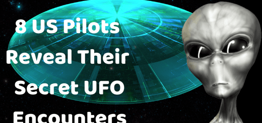 8 US Pilots Reveal Their Secret UFO Encounters