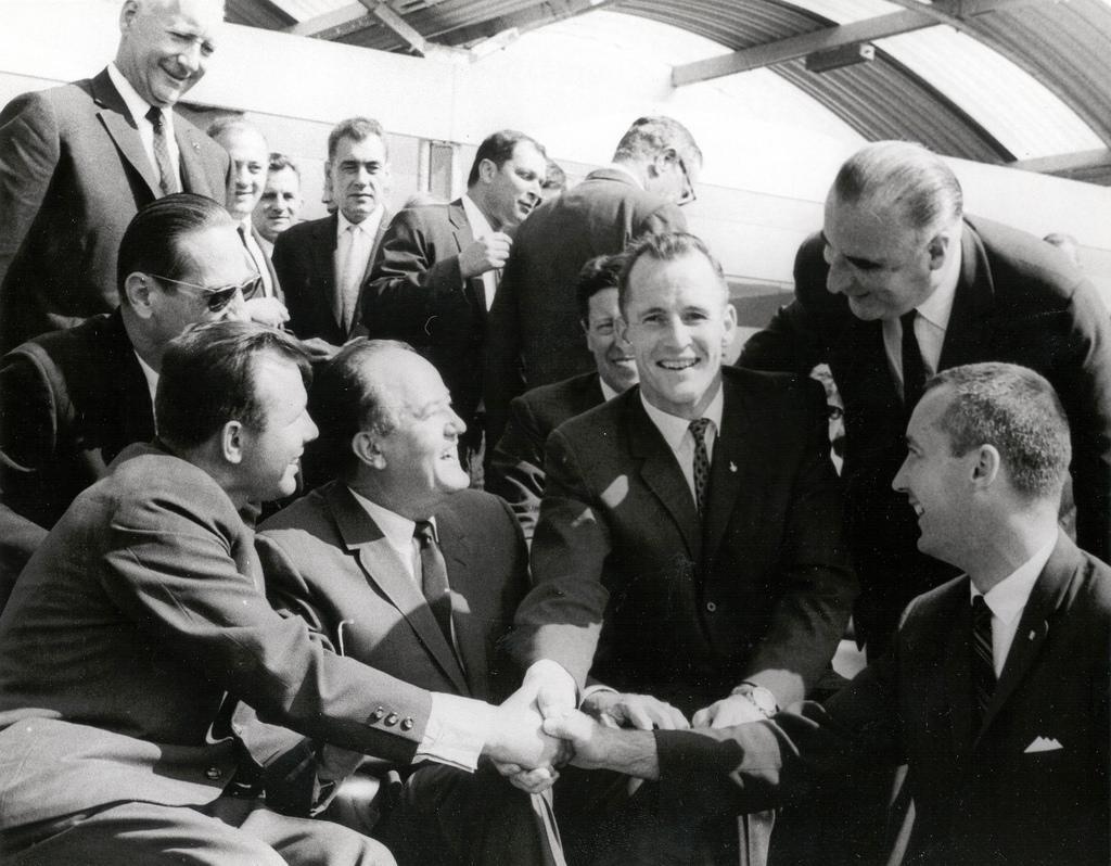 Yuri Gagarin: first human in space/ Flickr