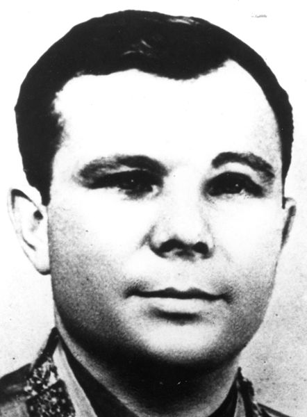 Yuri Gagarin: first human in space