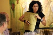 Antonella did a great job explaining Italy's wine geography.