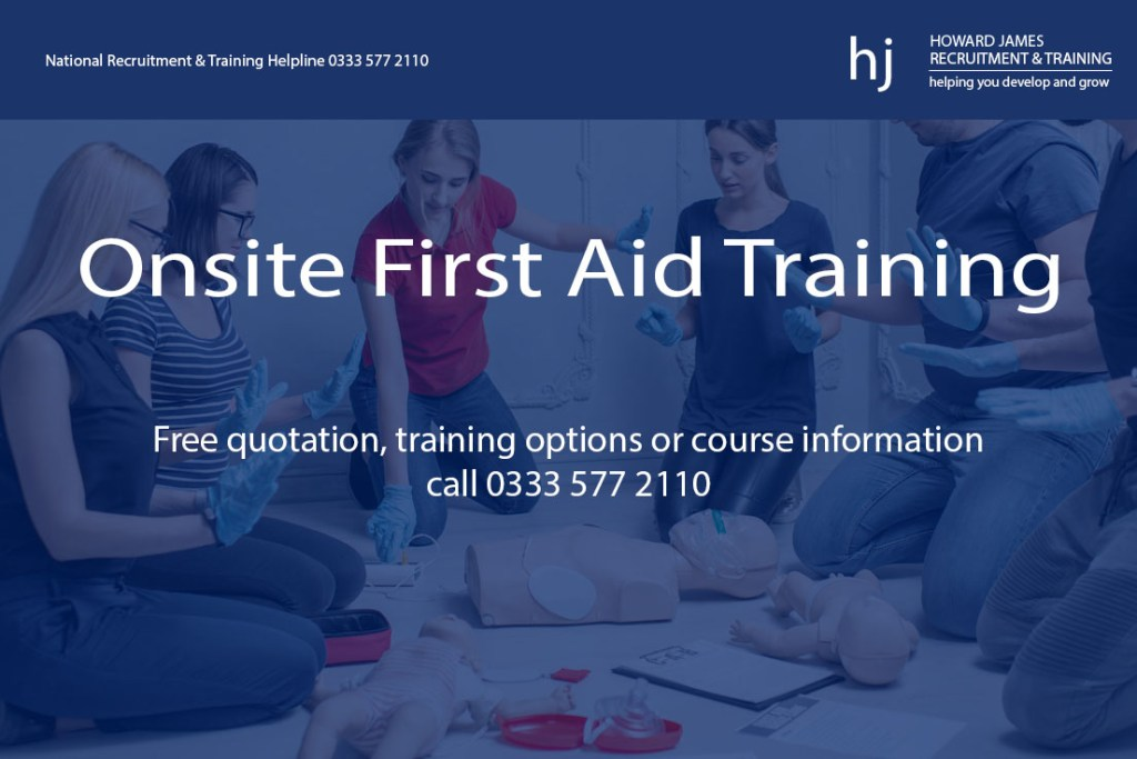 First Aid Training by Howard James