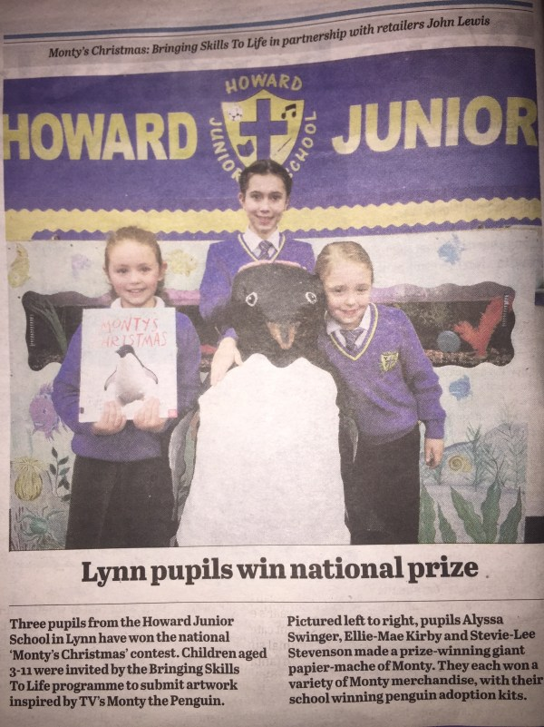 Lynn pupils win national prize