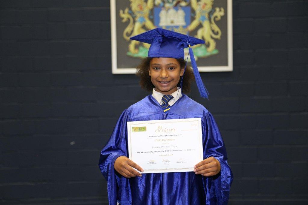 Children's University graduations 2016